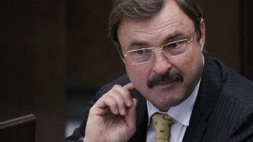 Член Комитета Совета Федерации РФ Андрей Гурьев