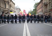 Марш миллионов шествие Петербург репортер