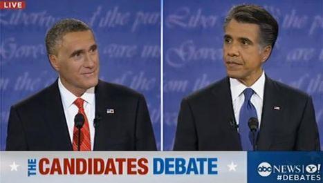 Фотожаба на Митта Ромни и Барака Обаму