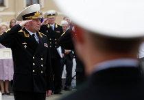 Чествование лучших выпускников военно-морских учебных заведений