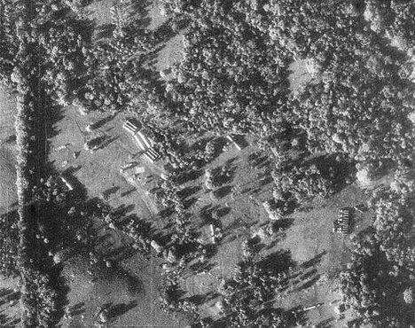 Съемки ракет с американского самолета-разведчика