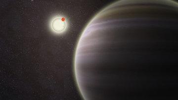 Планета PH1, обнаруженная в четверной звездной системой  участниками астрономического проекта Planet Hunters