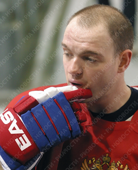 Хоккеист Андрей Марков