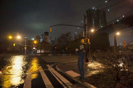 Затопленный в результате урагана «Сэнди» Нью-Йорк