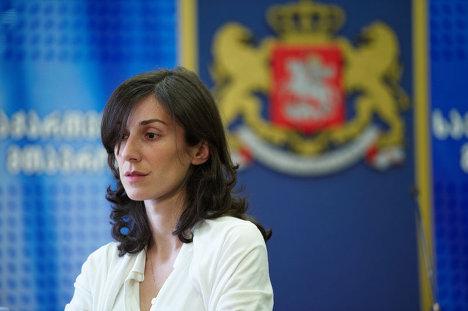 Заместитель министра внутренних дел Грузии Екатерина Згуладзе
