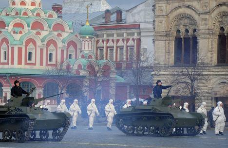 Торжественный марш, посвященный 71-й годовщине Парада 1941 года