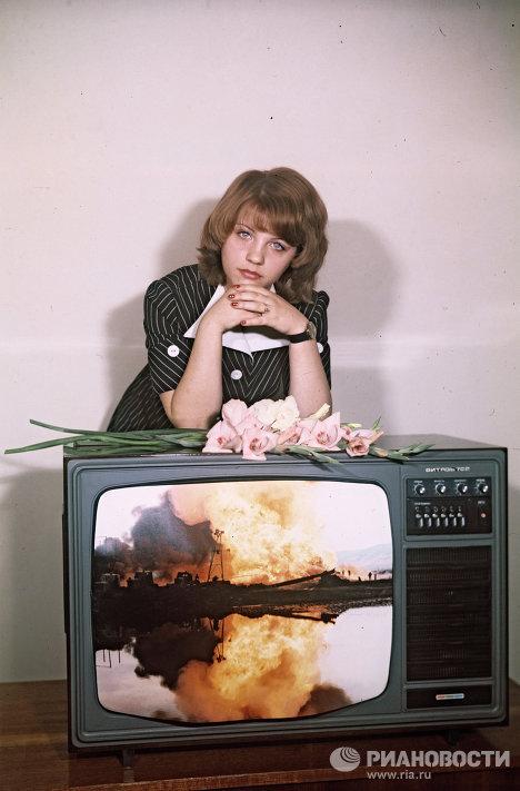 """Цветной телевизор """"Витязь 722"""""""
