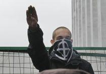 Несанкционированный «Русский марш» в Москве