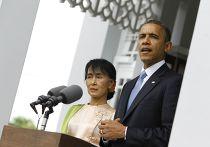 Барак Обама в Мьянме
