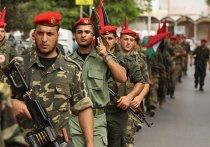 Торжественная встреча палестинских заключенных армией Хамас в Газе