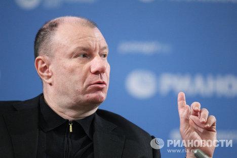 Российский предприниматель Владимир Потанин