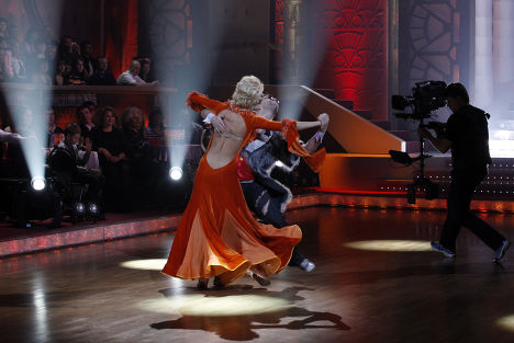 Съемки передачи «Танцы со звездами»