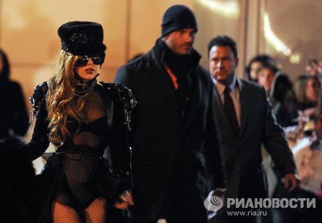 Американская певица Леди Гага прибыла в Москву