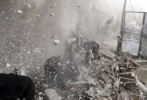 Бойцы Свободной сирийской армии в в Дамаске