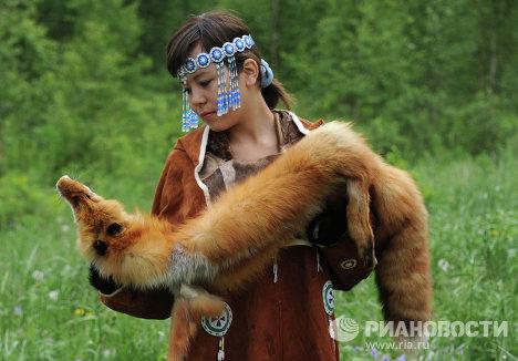 Национальные села в Быстринском природном парке на Камчатке