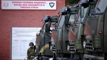 """Демонстрация образцов автомобильной техники """"КАМАЗ"""""""