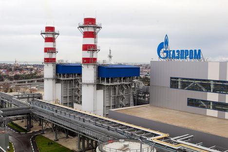 Территория Адлерской теплоэлектростанции (ТЭС)