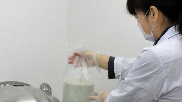 Каждый продукт, прежде чем попасть на приловок, проходит проверку на содержание радионуклидов