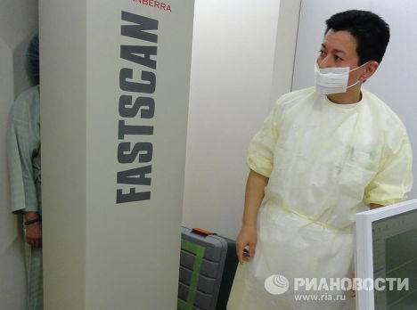 Любой житель Фукусимы может пройти анализ и узнать уровень накопленного в организме облучения