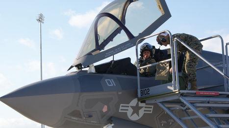 F-35B корпуса морскрй пехоты США