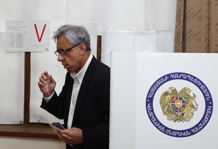 Выборы в Совет Старейшин в Ереване