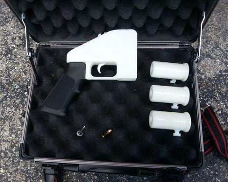 Пистолет Liberator, созданный на 3D-принтере