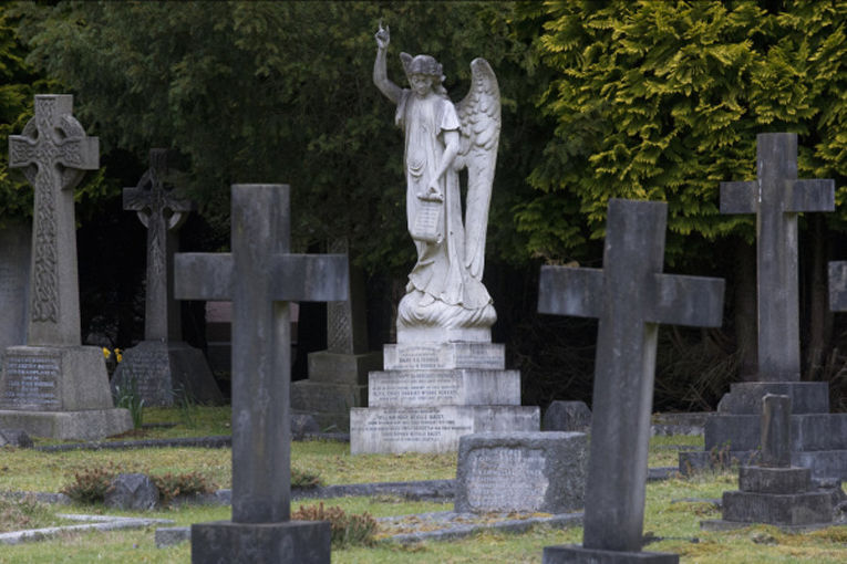 Кладбище Бруквуд, где, предположительно, пройдут похороны бизнесмена Бориса Березовского