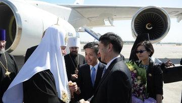 Визит патриарха Кирилла в Китай