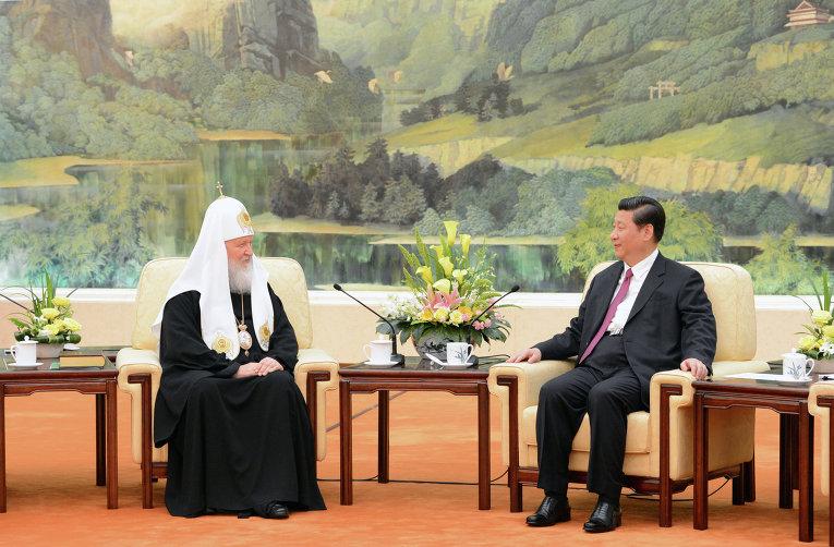 Первый в истории визит патриарха Кирилла в Китай
