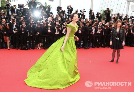 Китти Чжан Юки на открытии 66-го кинофестиваля в Каннах