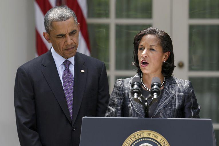 Барак Обама и Сьюзан Райс