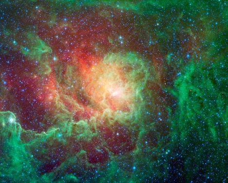Формирование новой планетарной туманности