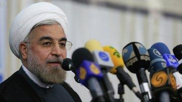 Хасан Роухани на выборах президента Ирана