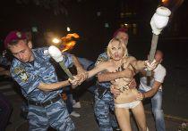 Активистка движения FEMEN