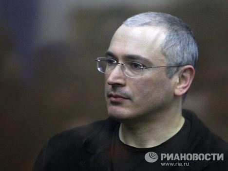 Экс-глава ЮКОСа Михаил Ходорковский в Хамовническом суде Москвы. Архив
