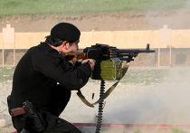 Соревнования по стрельбе среди сотрудников МВД в Чечне