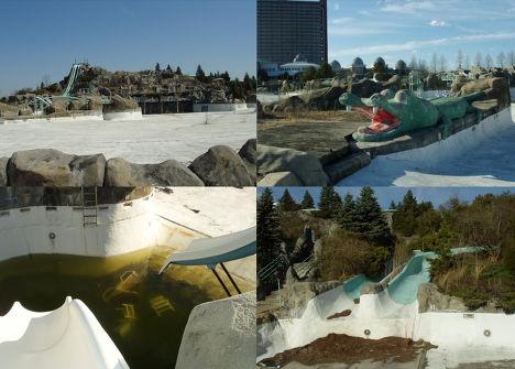 Заброшенные аттракционы парка развлечений в Южной Каролине