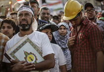 Выступления сторонников Мохаммеда Мурси в Каире