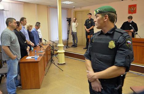 Оглашение приговора Алексею Навальному