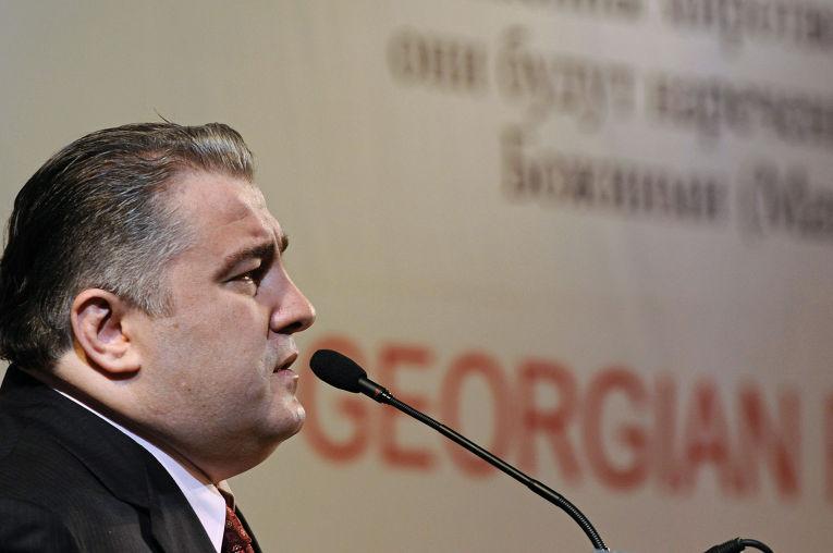 Президент «Ассамблеи народов Грузии» Гоча Дзасохов. Архив