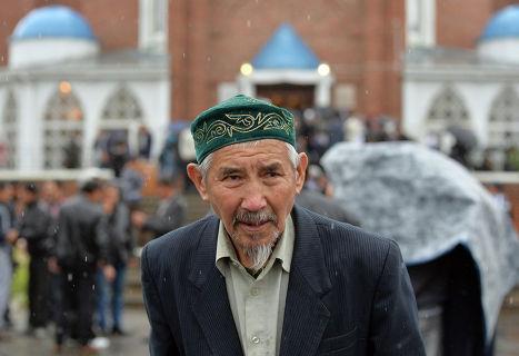 Празднование Ураза-байрама в Омске
