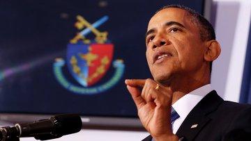 Выступление Барака Обамы в Национальном университете обороны в Вашингтоне