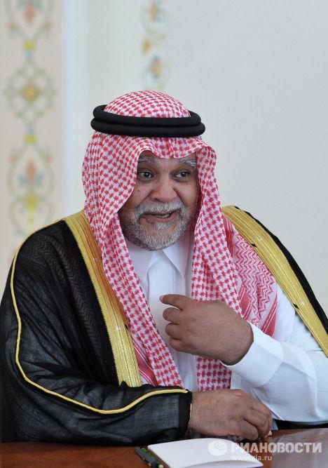 Принц Саудовской Аравии, генеральный секретарь Совета безопасности и глава общей разведки Саудовской Аравии Бандар бен Султан