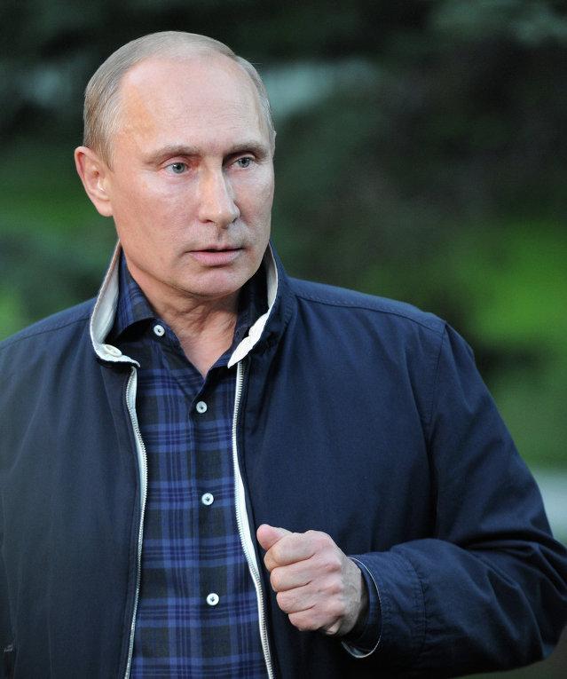 Рабочая поездка В.Путина в Приморский край