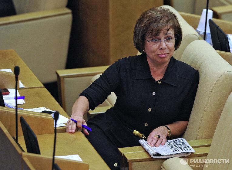 Член комитета Госдумы РФ Ирина Роднина