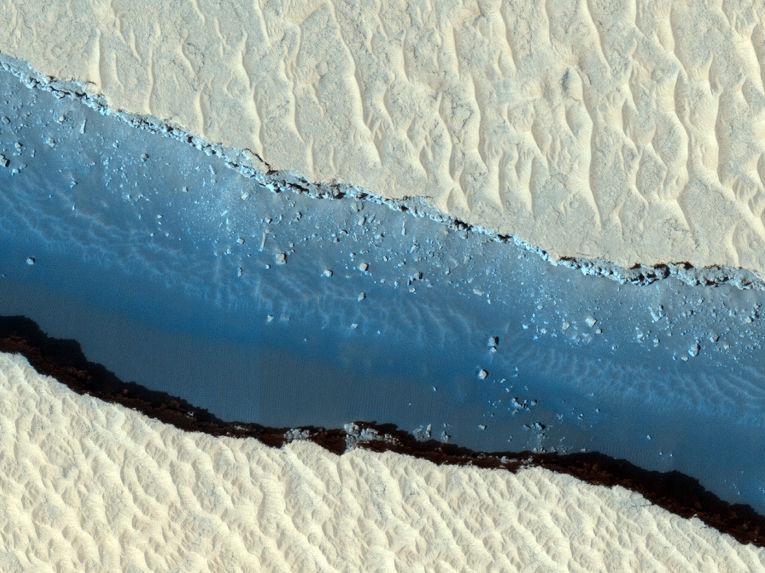 Впадина Цербера на Марсе