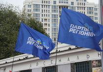 """Флаги """"Партии регионов"""" Украины"""
