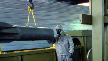 Уничтожение химического оружия. Архивное фото