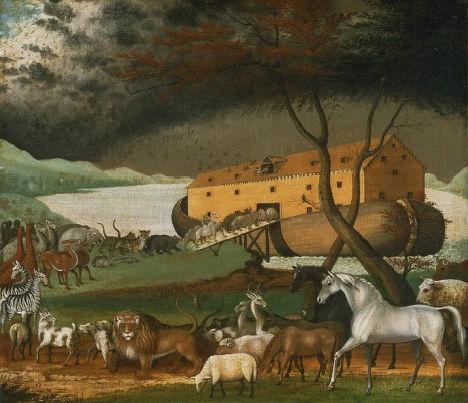 Эдвард Хикс «Ноев Ковчег», 1846 год