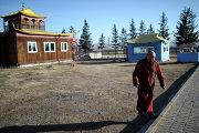 Монах Иволгинского дацана - буддийского монастырского комплекса
